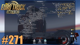 Euro Truck Simulator 2 | #271 | Gigantische Map! [FullHD|German|Mods]