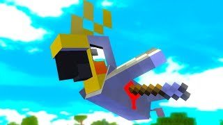 Parrot Life   Craftronix Minecraft Animation