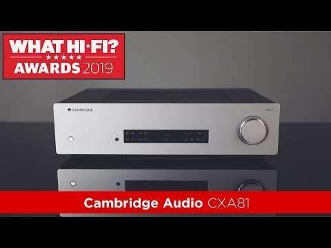 External Review Video bNTCBshCHoE for Cambridge Audio CXA81 Integrated Amplifier