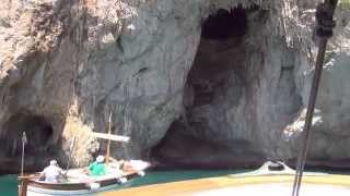 preview picture of video 'Белый Грот. Капри. White Grotto Capri Grotta Bianca'