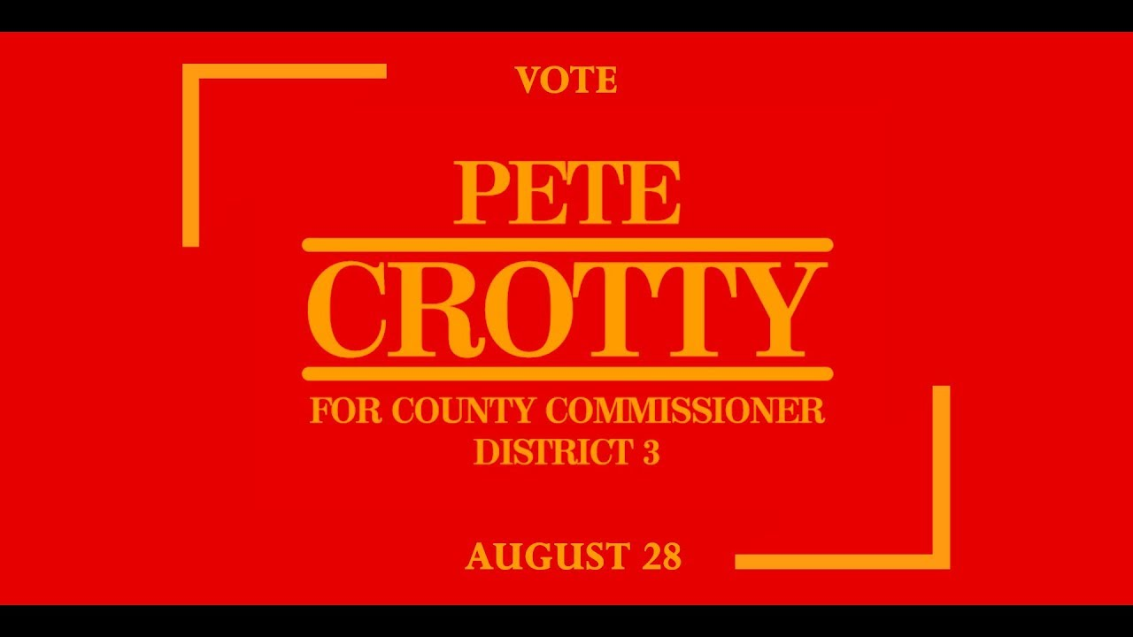Political Ad – County Commissioner