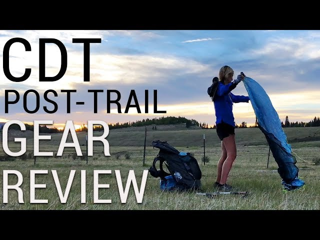 CDT Gear Review (Post-Trail)