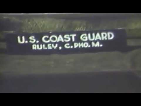 Coast Guard Film at Normandy France, June 1944.