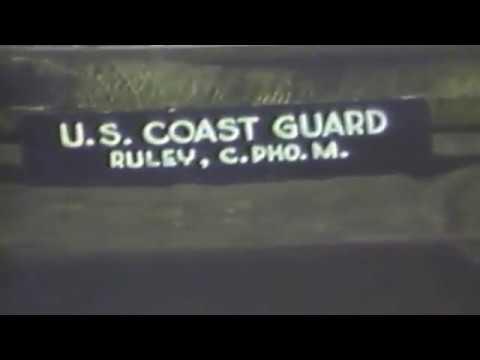 Coast Guard Film at Normandy France, June 1944.