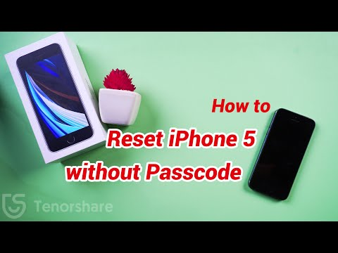 how to factory reset iphone 5 without passcode