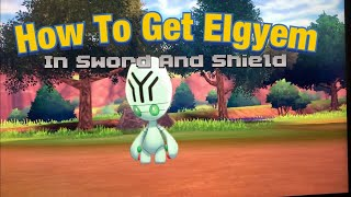 Elgyem  - (Pokémon) - HOW TO GET Elgyem In Pokemon Sword And Shield And Evolve It Into Beheeyem