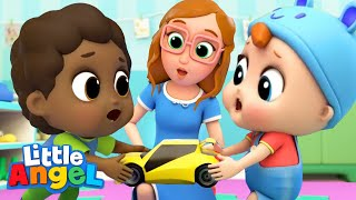 Learning At School & Playground | Little Teapot Song | Kids Songs and Nursery Rhymes Little Angel