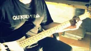 Sx SPB57 - Sail Away Deep Purple Bass cover.