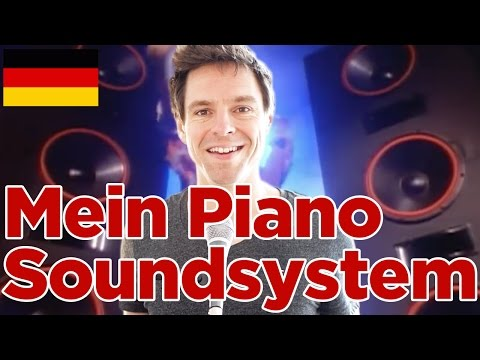 Mein Piano Soundsystem & wie AUCH DU DEIN E-PIANO zum Klingen bringst