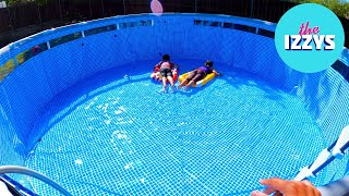 How long does it take to fill up a 16 foot pool?! (WE WERE ALL WRONG)