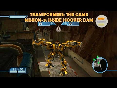 GAMEPLAY OF TRANSFORMERS: THE GAME IN 2018 (PC)|AUTOBOT|MISSION-3: INSIDE THE HOOVER DAM (HD)