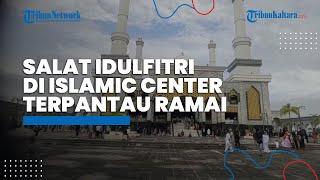 Salat Idul Fitri 1442 H di Islamic Center Nunukan Terpantau Ramai, Bupati Nunukan Sampaikan Ini
