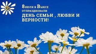 День семьи, любви и верности в Выксе, 2018