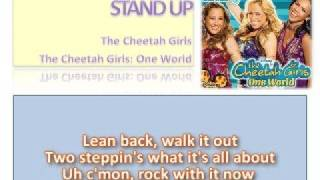 03 Stand Up - Official Karaoke / Instrumental (Lyrics)