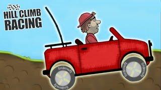 Машина игра для детей супер прохождение игры на андроид Hill Climb Racing 1