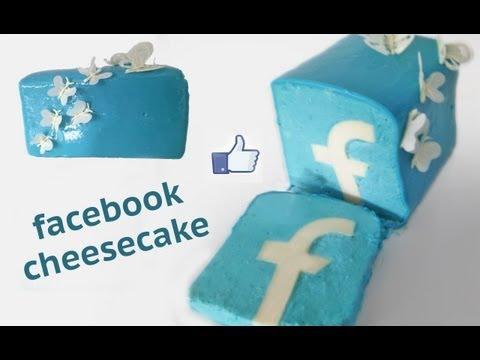 FACEBOOK cake HOW TO COOK THAT Facebook dessert Ann Reardon