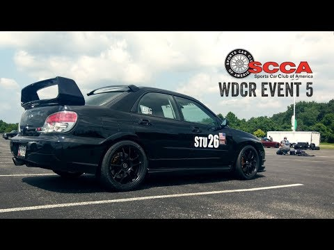 SCCA WDCR Event 5 - FedEx Field Stadium (8/12/18)
