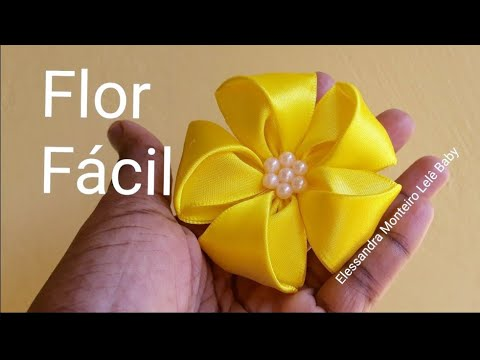 Flor cinco pétalas