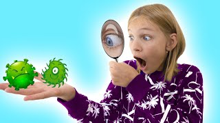 Children stories about Viruses with Amelia, Avelina and Akim