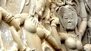 Apsaras a Gandharvas z Angkor Wat