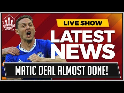 MATIC TO MANCHESTER UNITED DONE? MAN UTD TRANSFER NEWS
