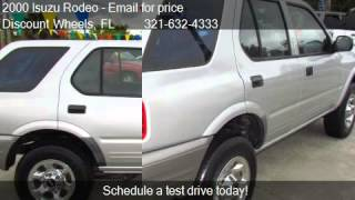 2000 Isuzu Rodeo S - for sale in Cocoa, FL 32922