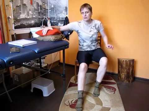 Реабилитация после травмы голени. Укладки на голеностоп 1/ injuries of the lower leg