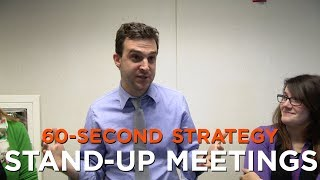 60-Second Strategy: Stand-Up Meetings
