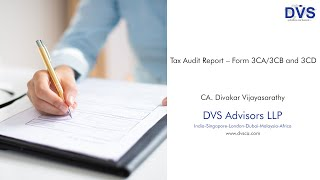 What is Form 3CA/3CB and 3CD