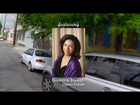 Here is a web show on NolaVie that interviews Ms. Joseph as she travels around New Orleans