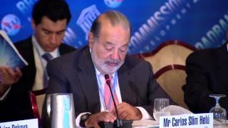 Carlos Slim Helu, Opening Speech, 6th Broadband Commission For Digital Development Meeting, NY, NY