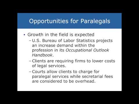Chapter 1 Intro to Paralegal Studies - YouTube