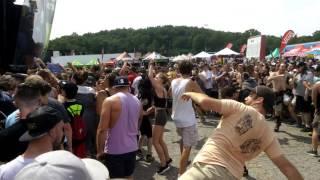 The Acacia Strain - The Beast LIVE Vans Warped Tour - Palace of Auburn Hills Pontiac, MI [Clip]
