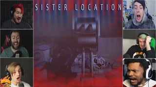 Gamers Reactions to Getting Scooped | Five Nights at Freddy's: Sister Location