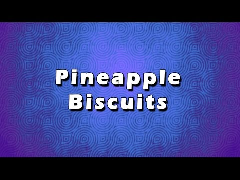 Pineapple Biscuits | EASY RECIPES | EASY TO LEARN