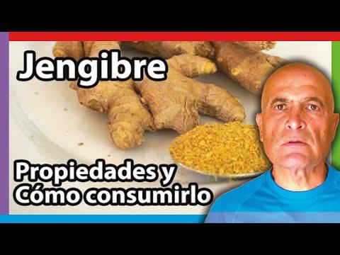 Jengibre - Propiedades y cómo consumirlo