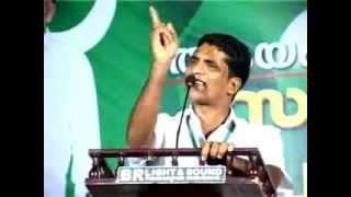 Shareef Kottappuram Amazing Muslim League Speech