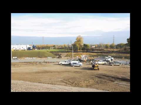 Time-lapse: Perimter Access Road Construction -<br /> November 4, 2016