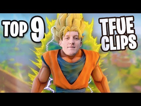 Tfue Top 9 Moments in Fortnite **bet you will laugh**