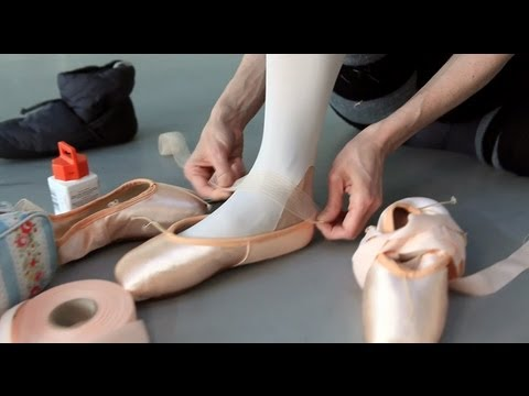 Watch: How dancers prepare their shoes for the stage