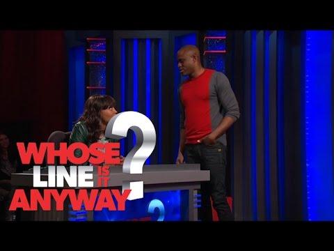 Wayne Brady dating Aisha Tyler - Whose Line Is It Anyway? US