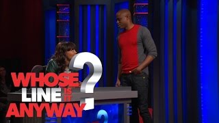 Wayne Brady dating Aisha Tyler - Whose Line Is It Anyway? US