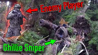 Invisible Ghillie Sniper 👻Unbelievable Airsoft Gameplay