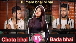 Bhai Bhai ka pyar part 2 | Chota bhai Vs Bada Bhai | Tu mera bhai ni hai | Aman grover