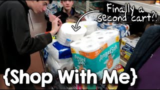 Is This the End for the Single Cart Challenge? ¦ Large Family Shop with Me ¦ November 2019