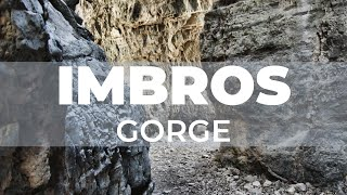 Trip to the Imbros gorge