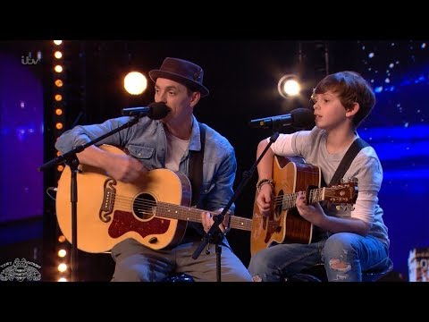 Britain's Got Talent 2018 Jack and Tim Adorable Father and Son Duet Full Audition S12E03 (видео)