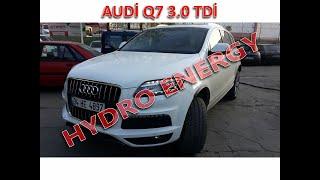 Audi Q7 3.0 TDi hidrojen yakıt tasarruf sistem montajı