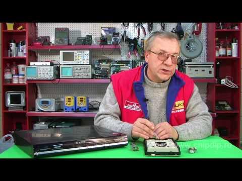 Лазер в CD и DVD приводе