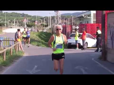 Último km de la carrera